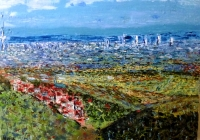 Malerblick nach Frankfurt