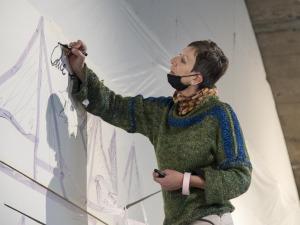 Ein ganz normaler Hebst, nur anders- Projekt KVFM- Cornelia Lela Heier und Oliver Tüchsen-  Tag 10