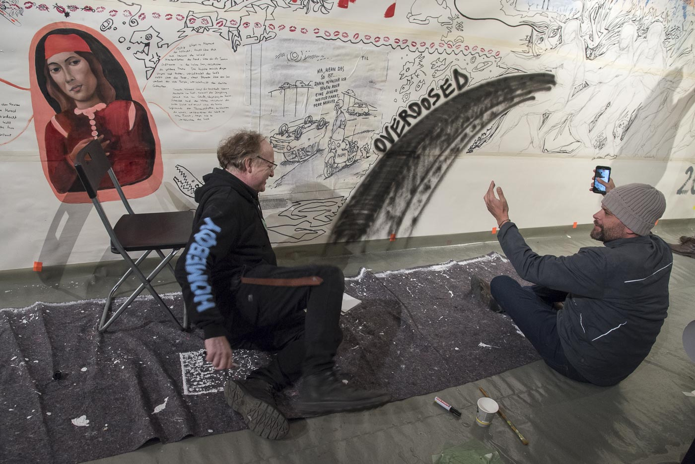 Ein ganz normaler Hebst, nur anders- Projekt KVFM- Hans Petri und Niklas Fiedler- Tag 11