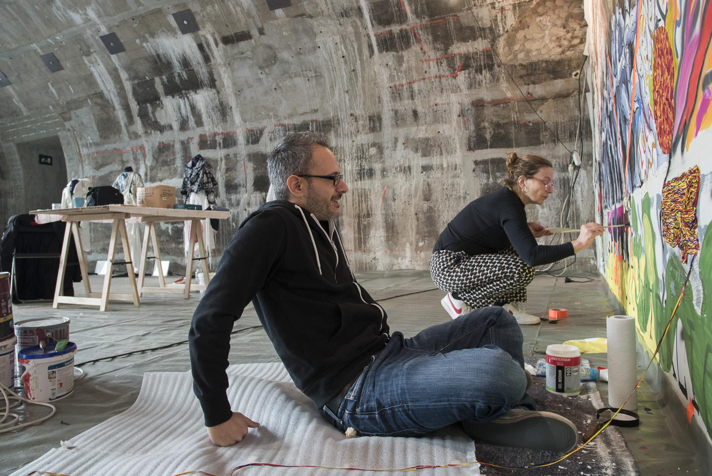 Ein ganz normaler Herbst, nur anders- Projekt KVFM- Claudia Weber, Martina Gebhardt und Serkan Goeren  -Tag 21