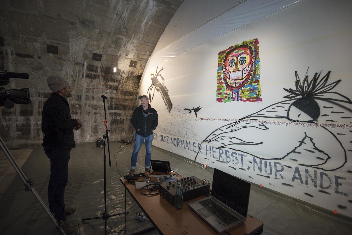 Ein ganz normaler Hebst, nur anders- Projekt KVFM- Eric Schrade und Florian Heinke-  Tag 6